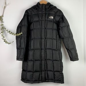 North Face Metropolis Black Puffer Down Jacket 600